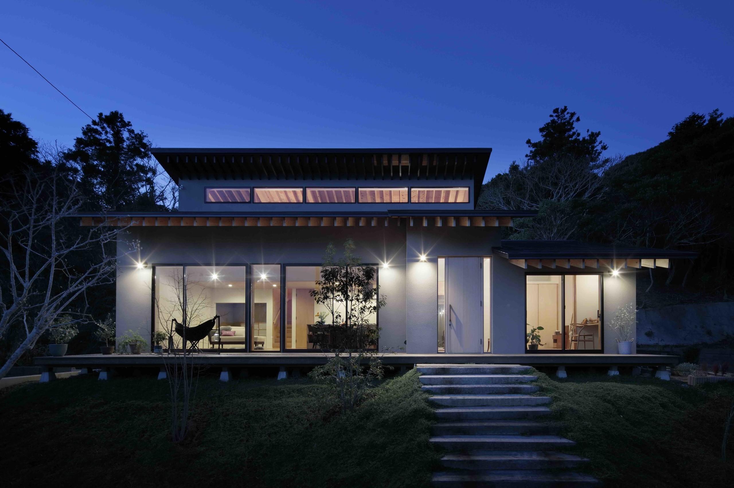 外房の家の建築事例写真