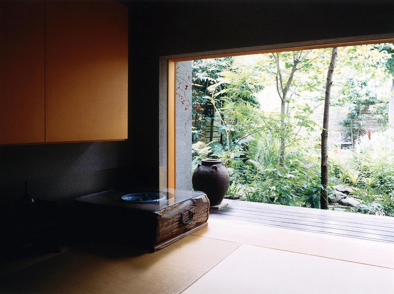 庭を楽しむ住宅(増築&リノベーション)の建築事例写真