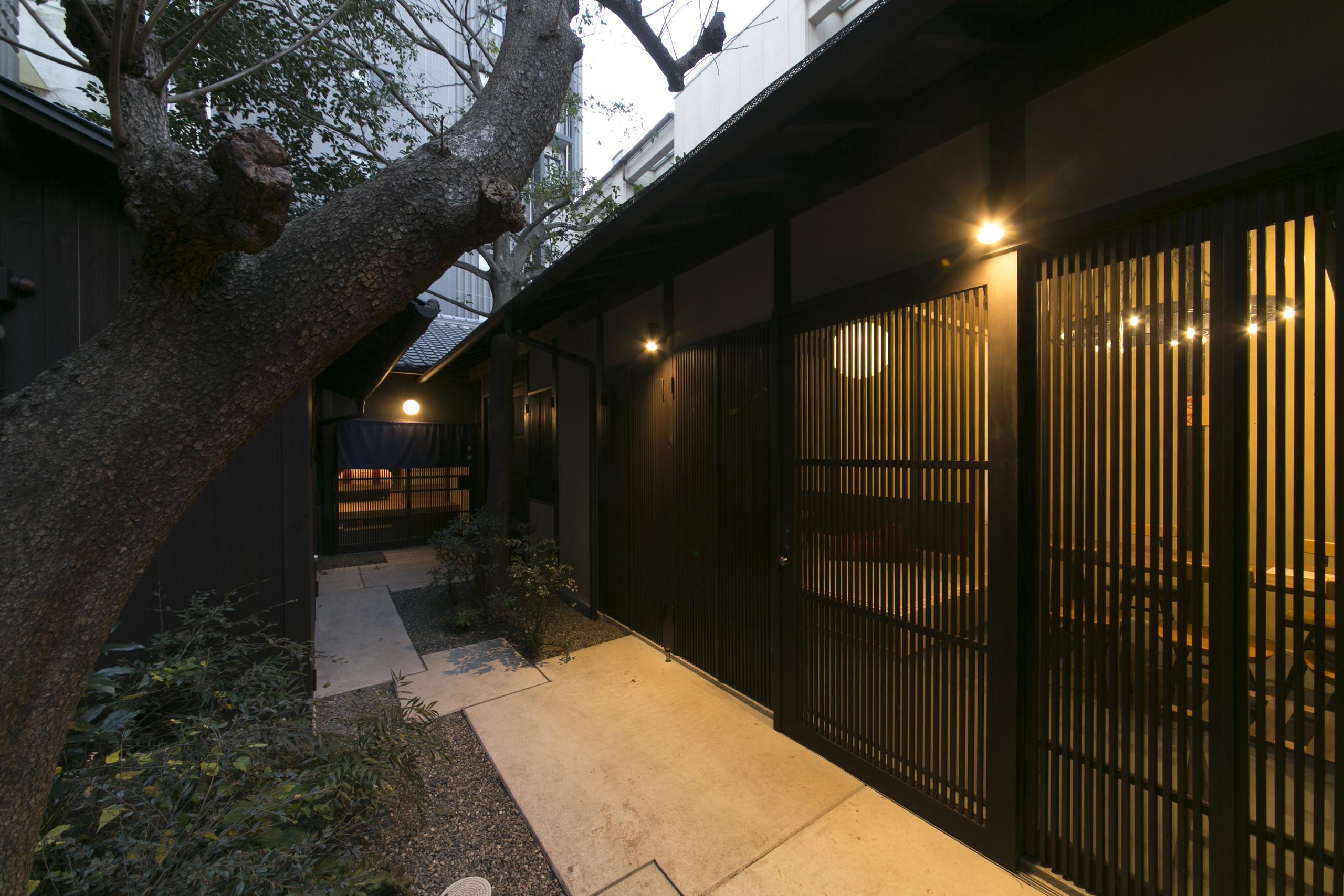 京町家のリノベーションの建築事例写真