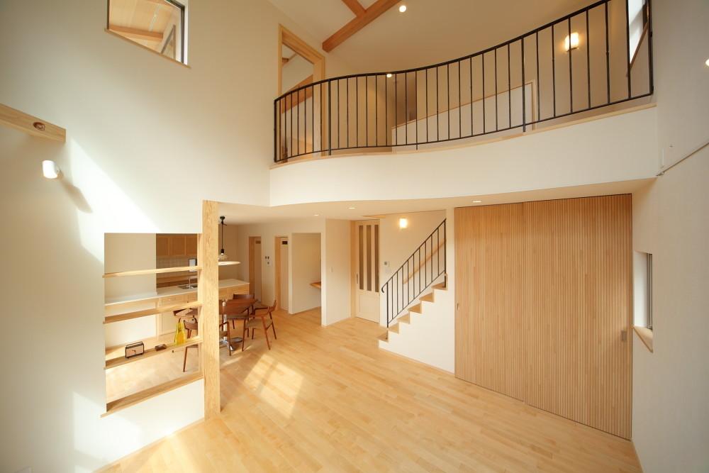 オープンテラスの家(大阪)の建築事例写真