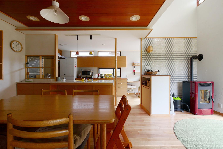戸建リノベーション「あそびごころの家」京都の建築事例写真