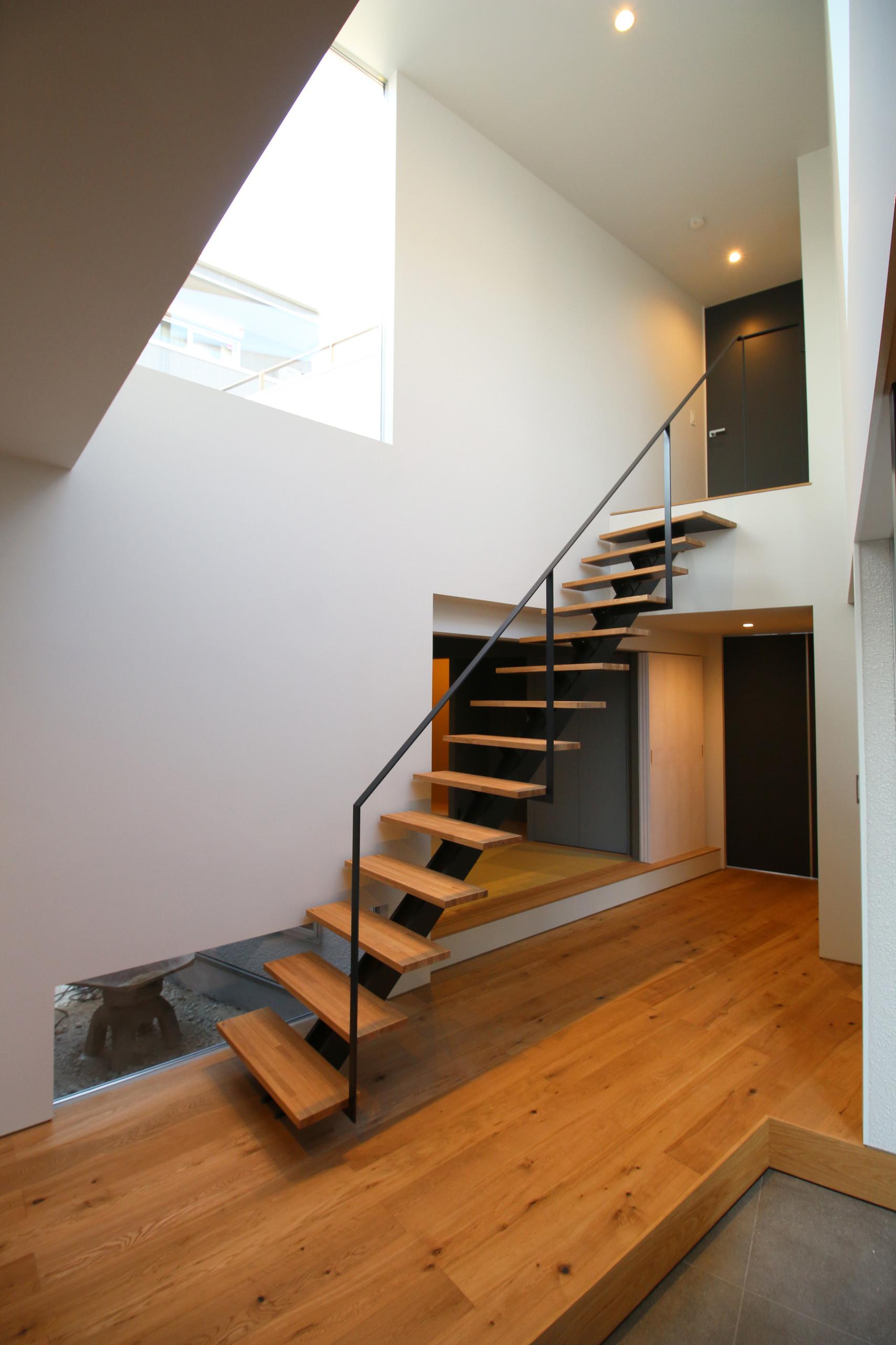 白の家の建築事例写真