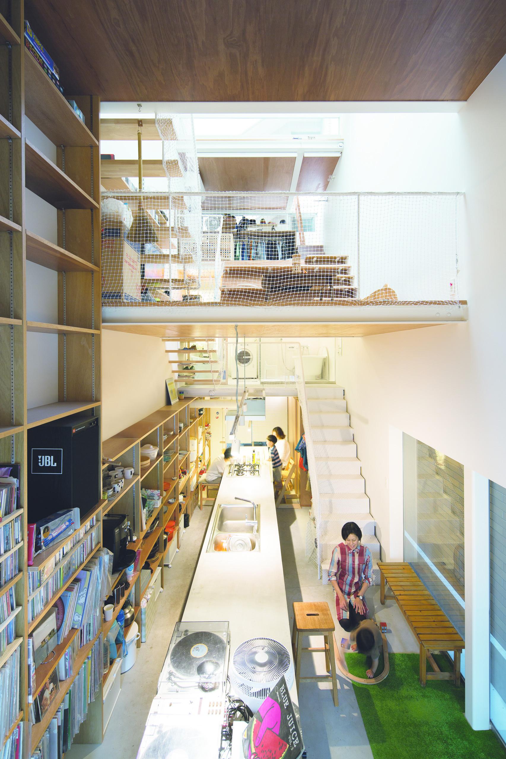 街での暮らしを楽しむ  [六甲道の家]の建築事例写真