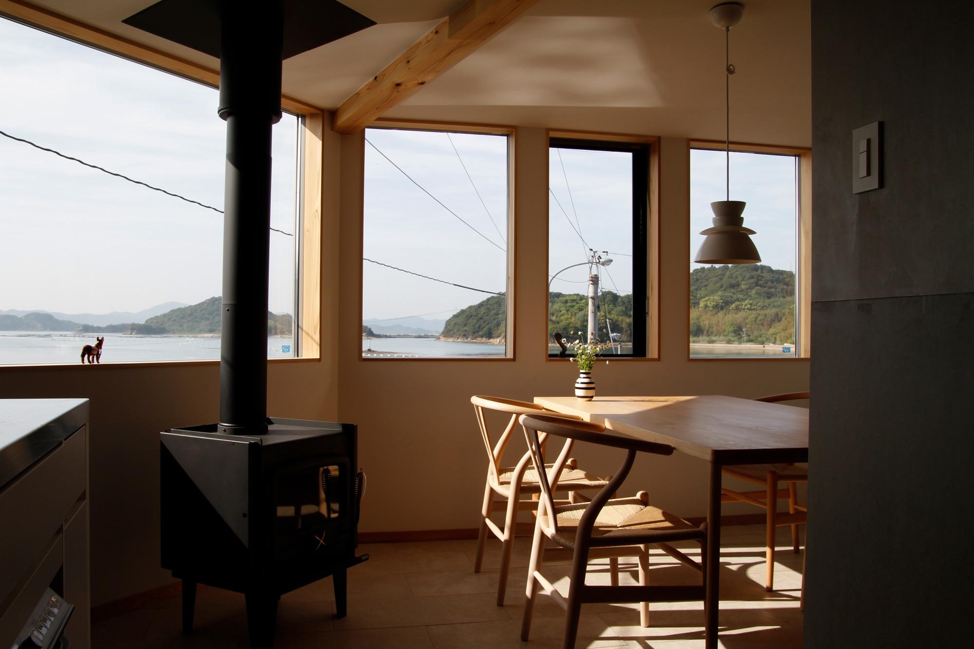 直島の家の建築事例写真