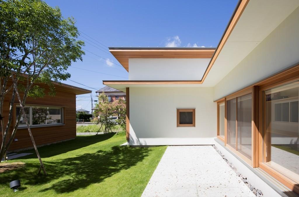 拾石の家/職住一体の暮らし おおらかなコートハウスの建築事例写真