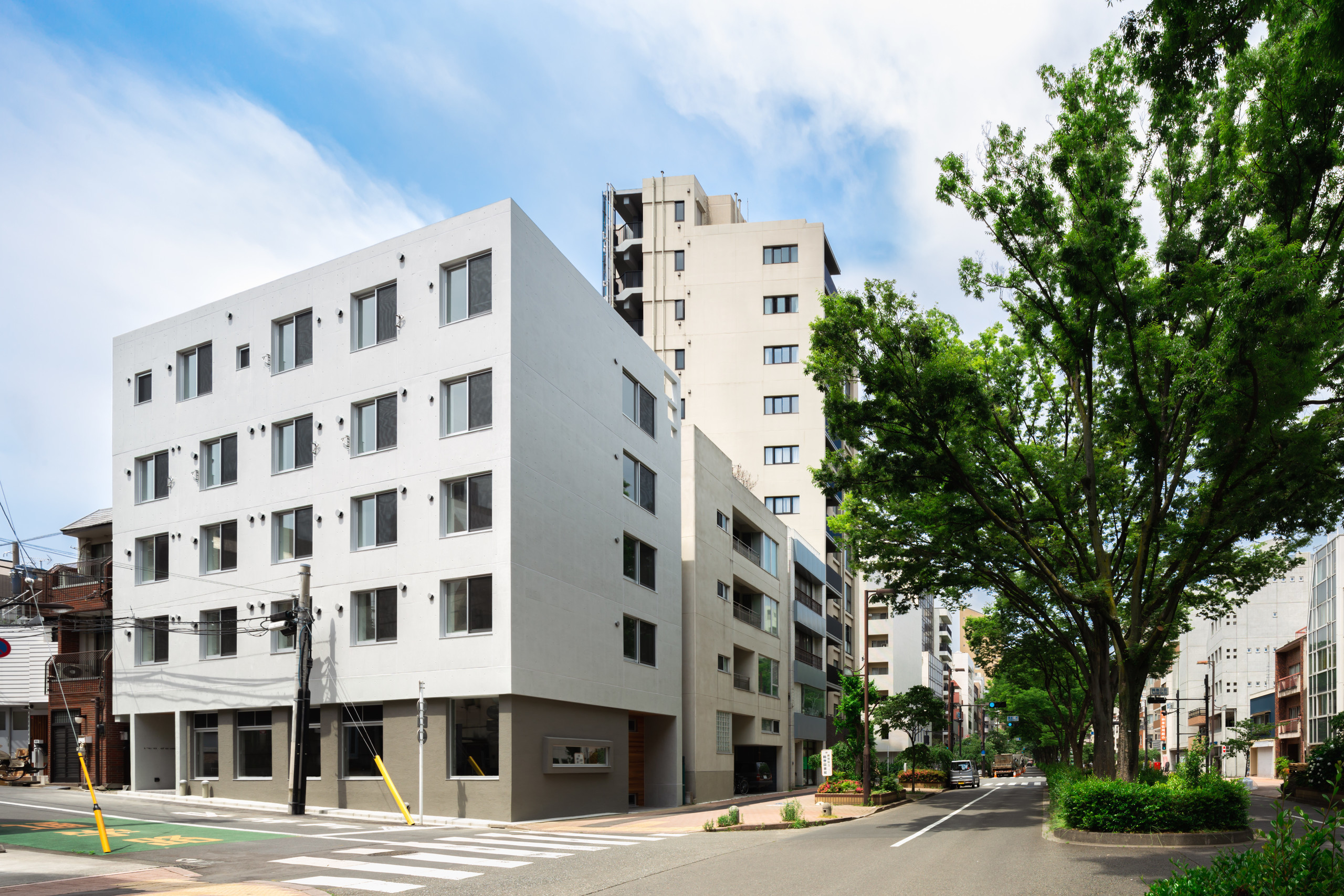 早稲田の共同住宅の建築事例写真