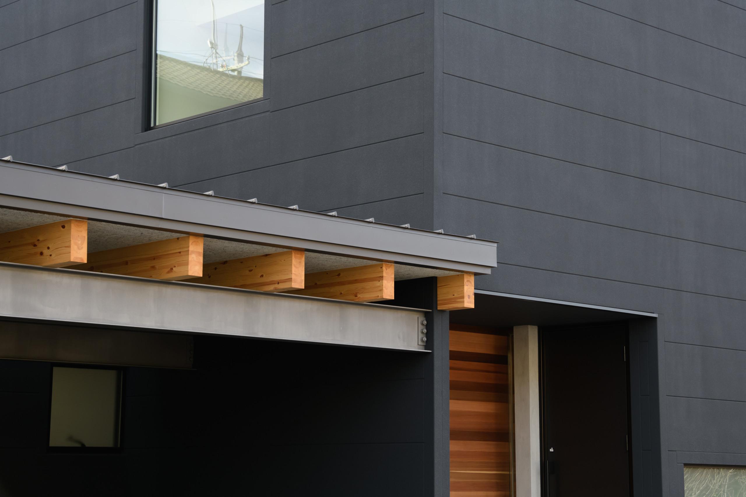 黒の家【木造2階建】の建築事例写真
