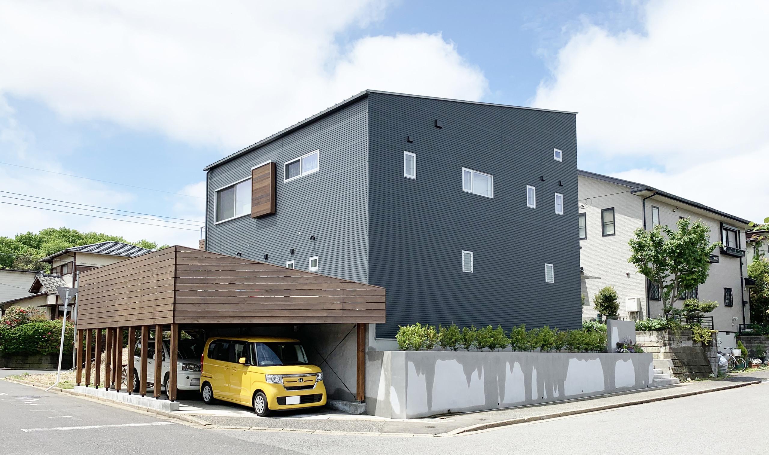創作と共にあるすまい houseBWの建築事例写真