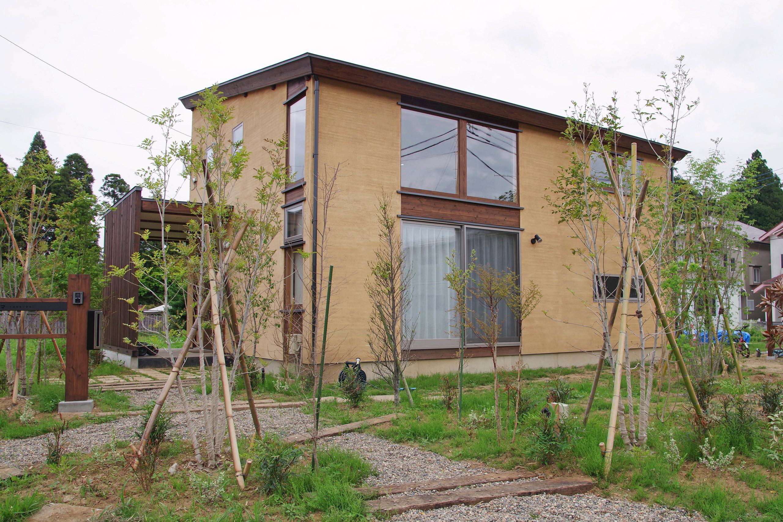 山武杉の家の建築事例写真