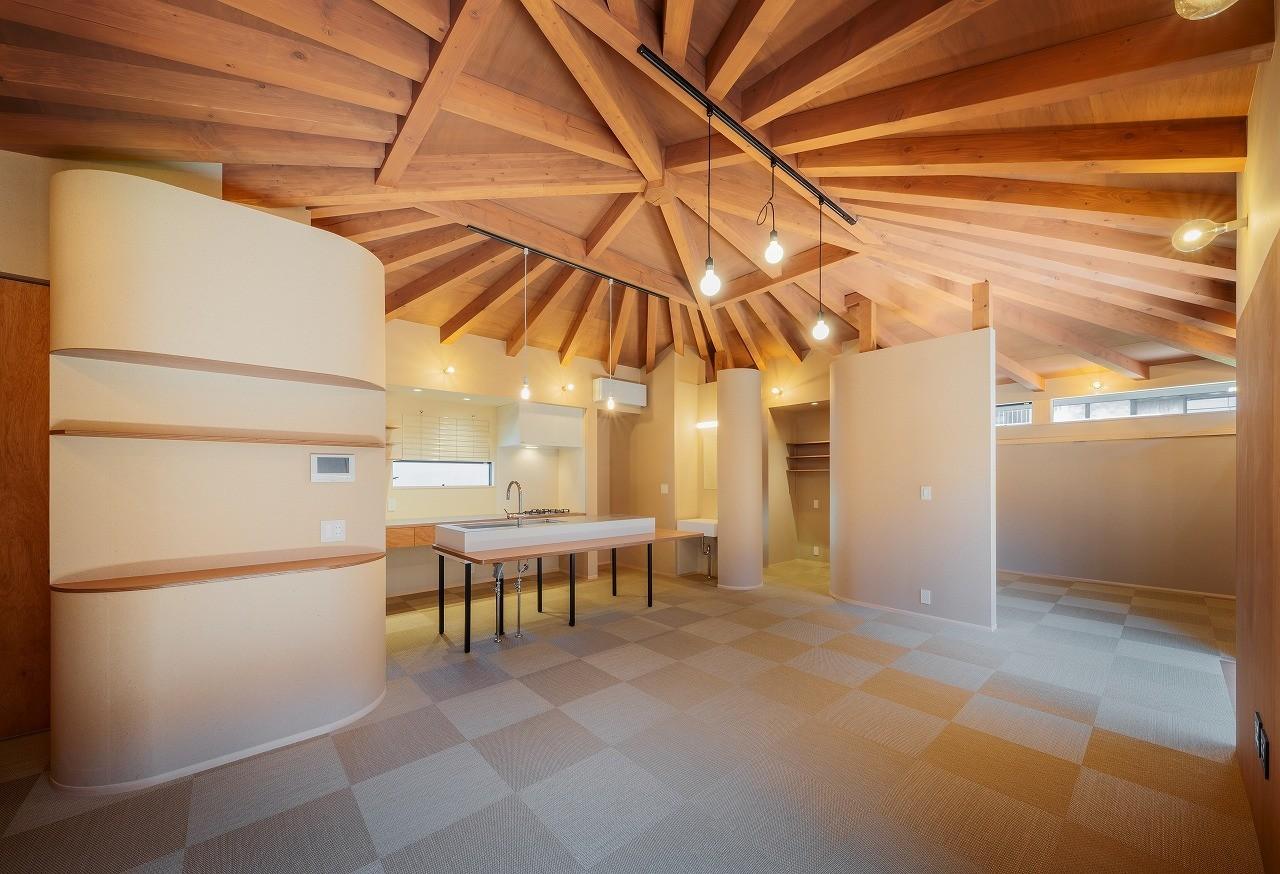 平屋住宅 「一室の家」の建築事例写真