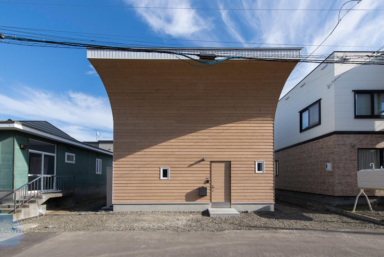 北の家 北国の生活に必要な空間を凝縮した家の建築事例写真