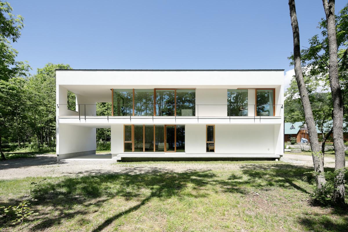 063大町青木湖Yさんの家の建築事例写真