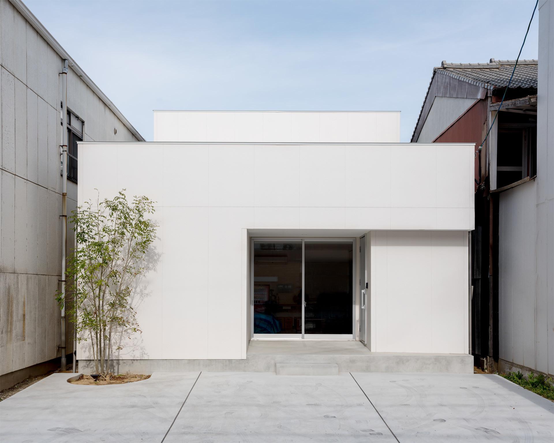 スカッシュコートの建築事例写真