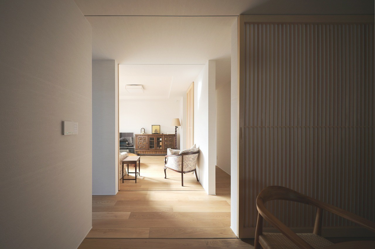 耐震・断熱・単身高齢者に対応したデザインリノベの建築事例写真