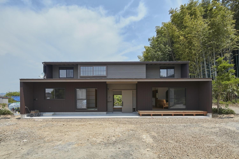 南側外観 | 大草の家~猫と暮らすやさしいデザインの家