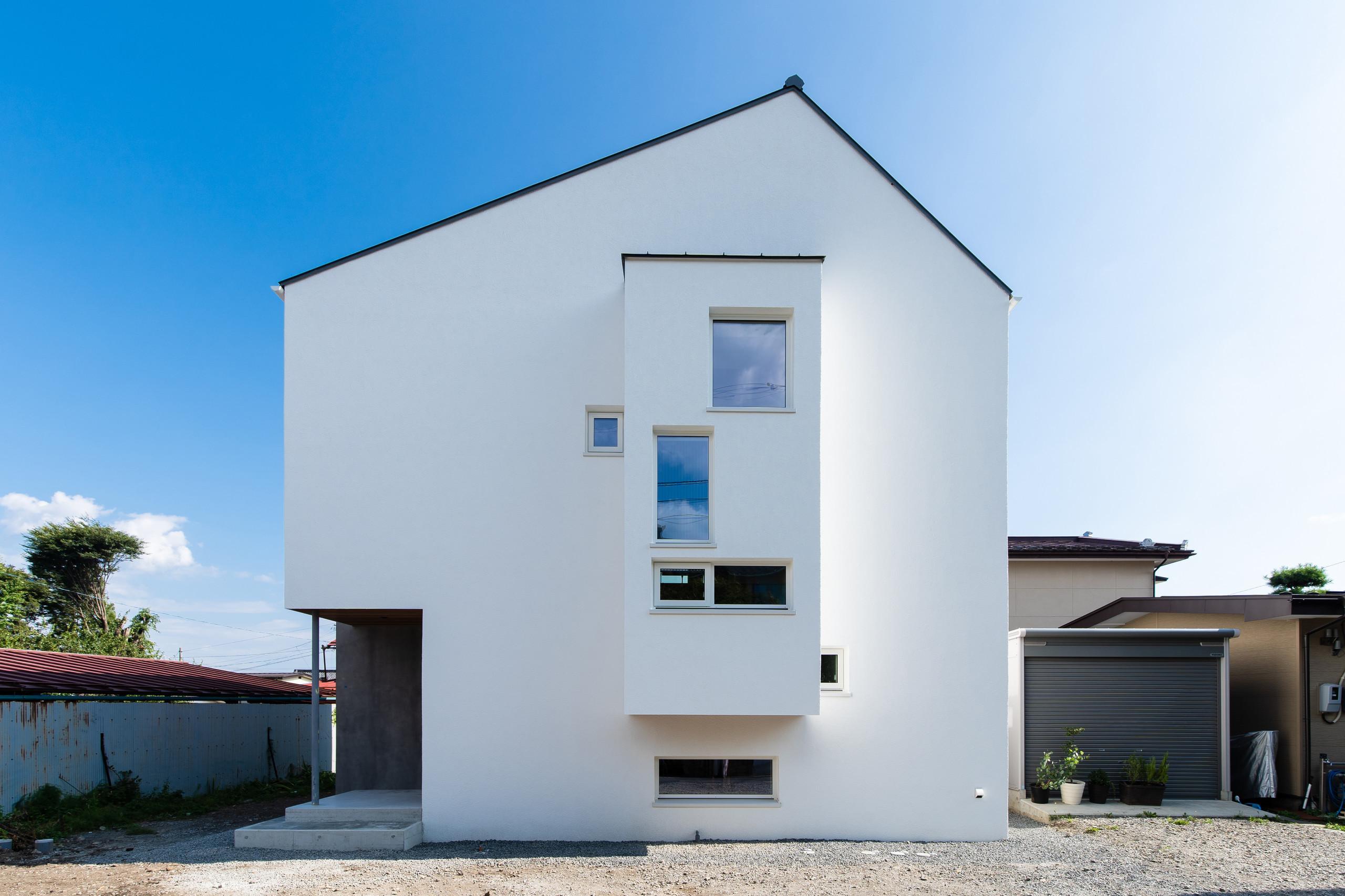 岡谷のS邸の建築事例写真