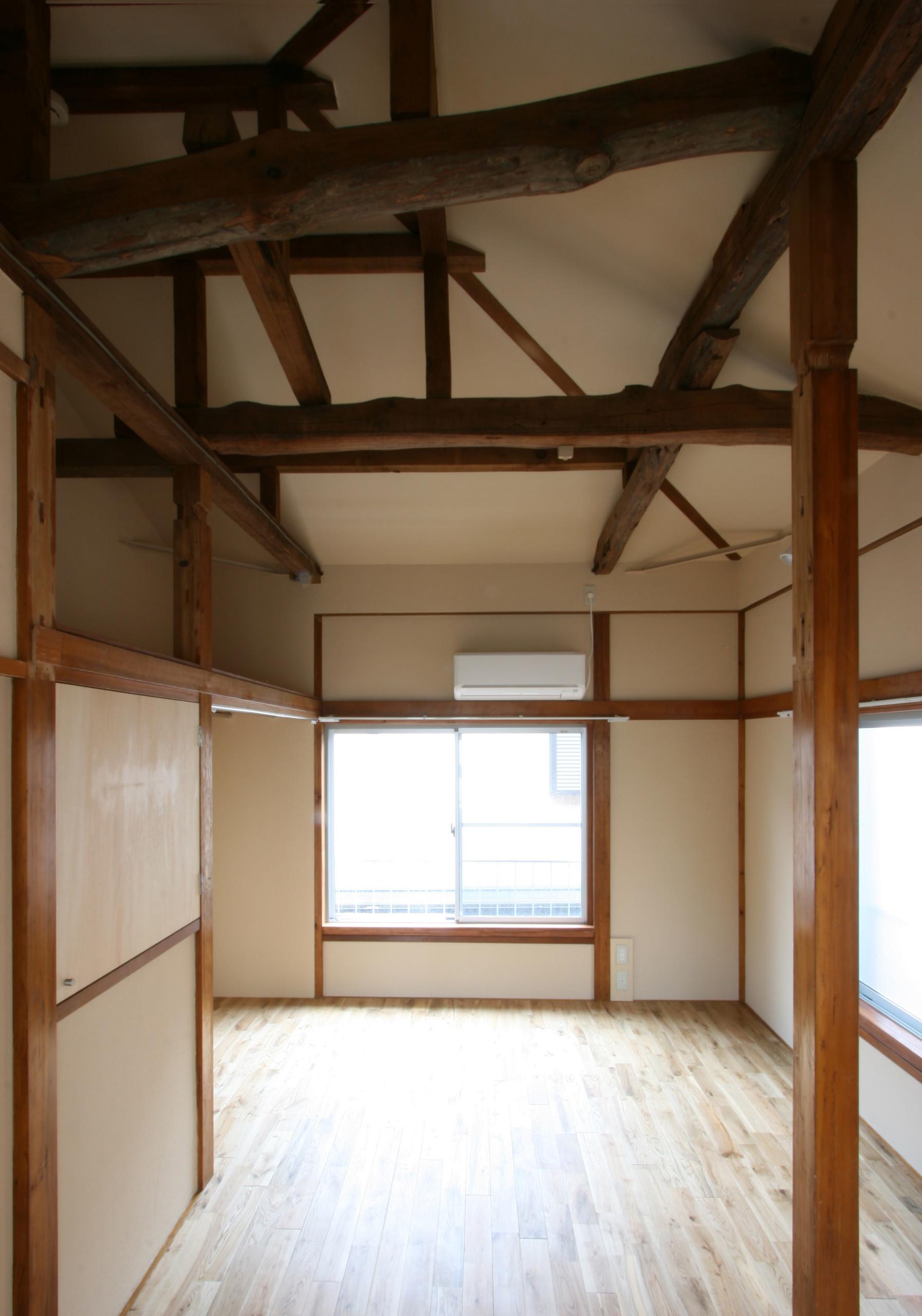 40年のボロボロアパート内装改装の建築事例写真