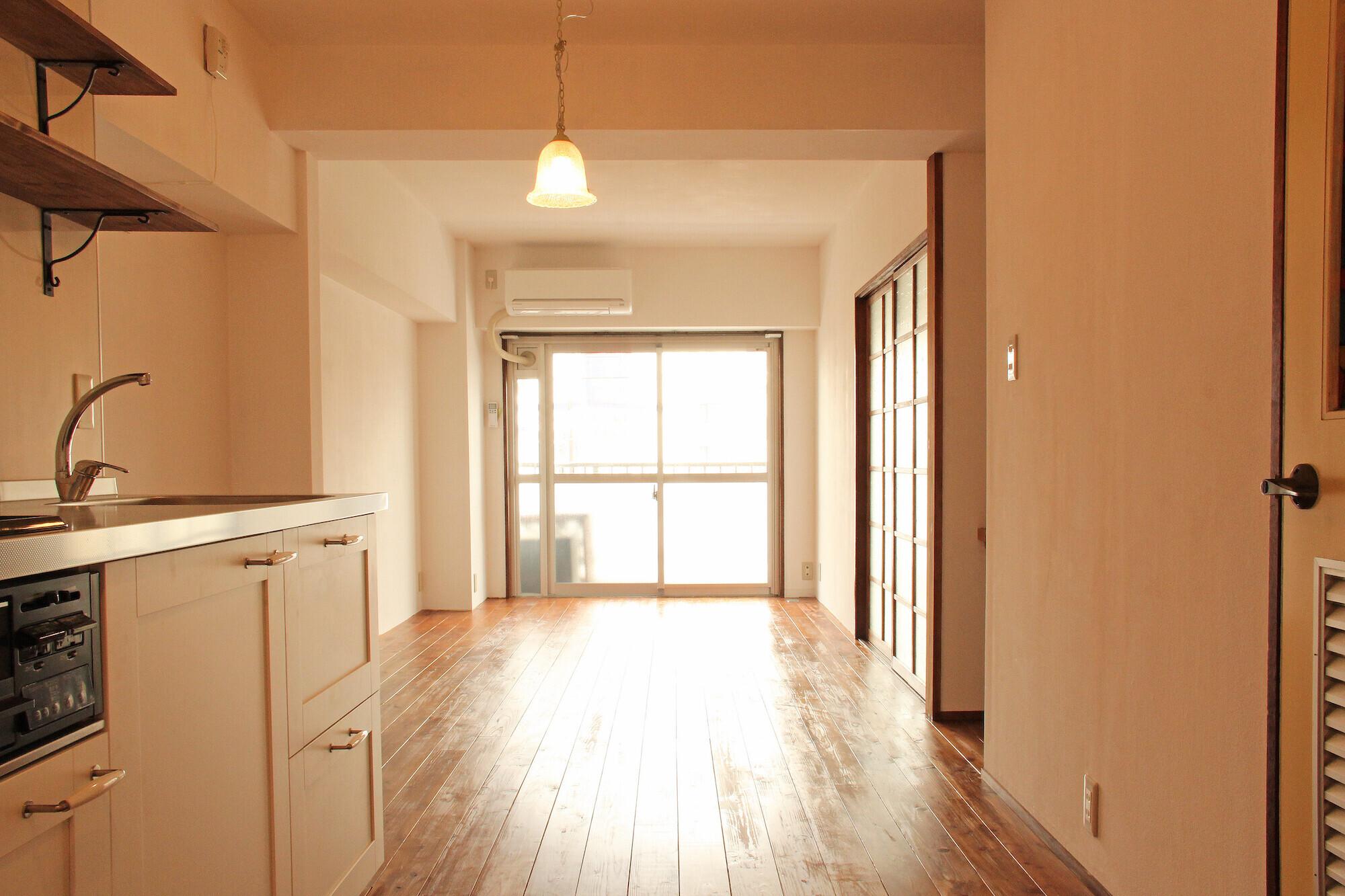 松戸の家2(無垢な賃貸)の建築事例写真
