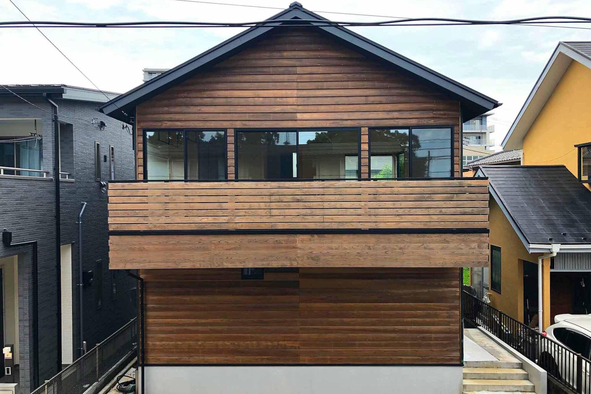 柏の家2(回遊する家)の建築事例写真