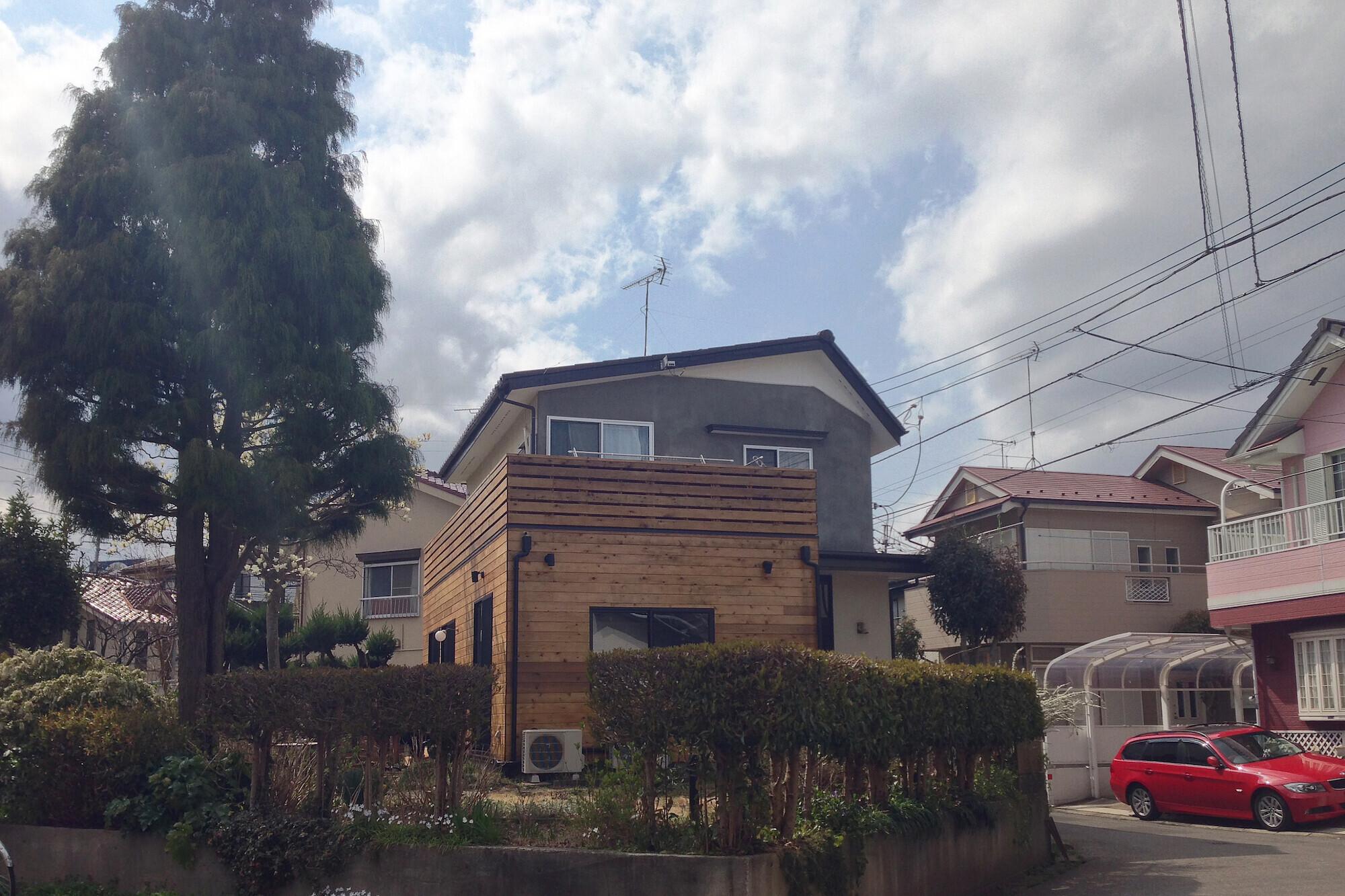 柏の家1(カフェのある家)の建築事例写真
