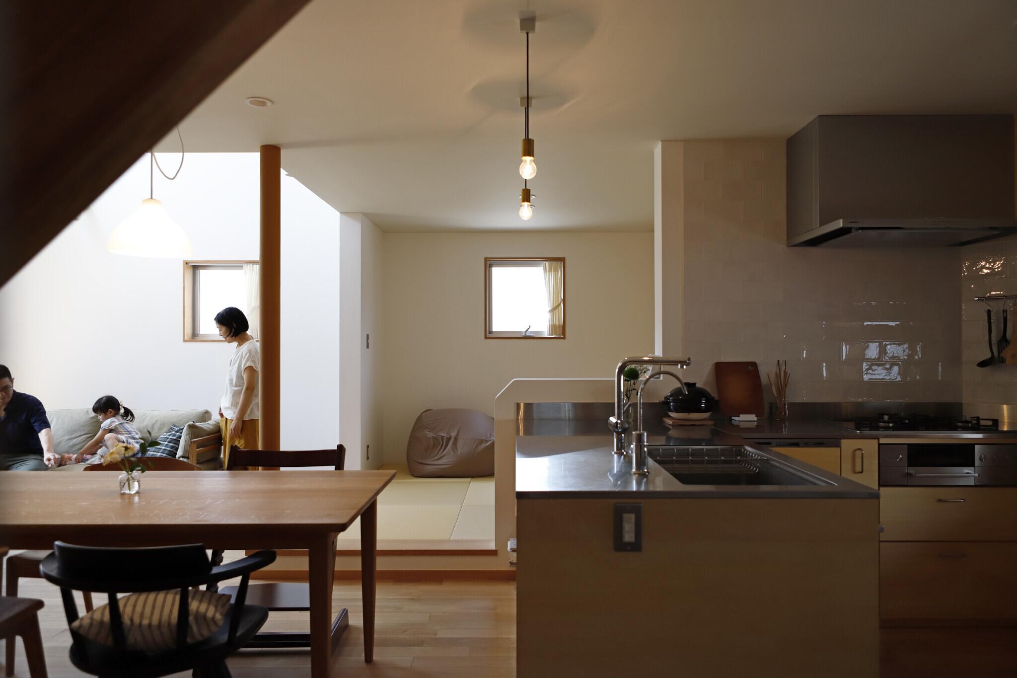 心休まる家の建築事例写真