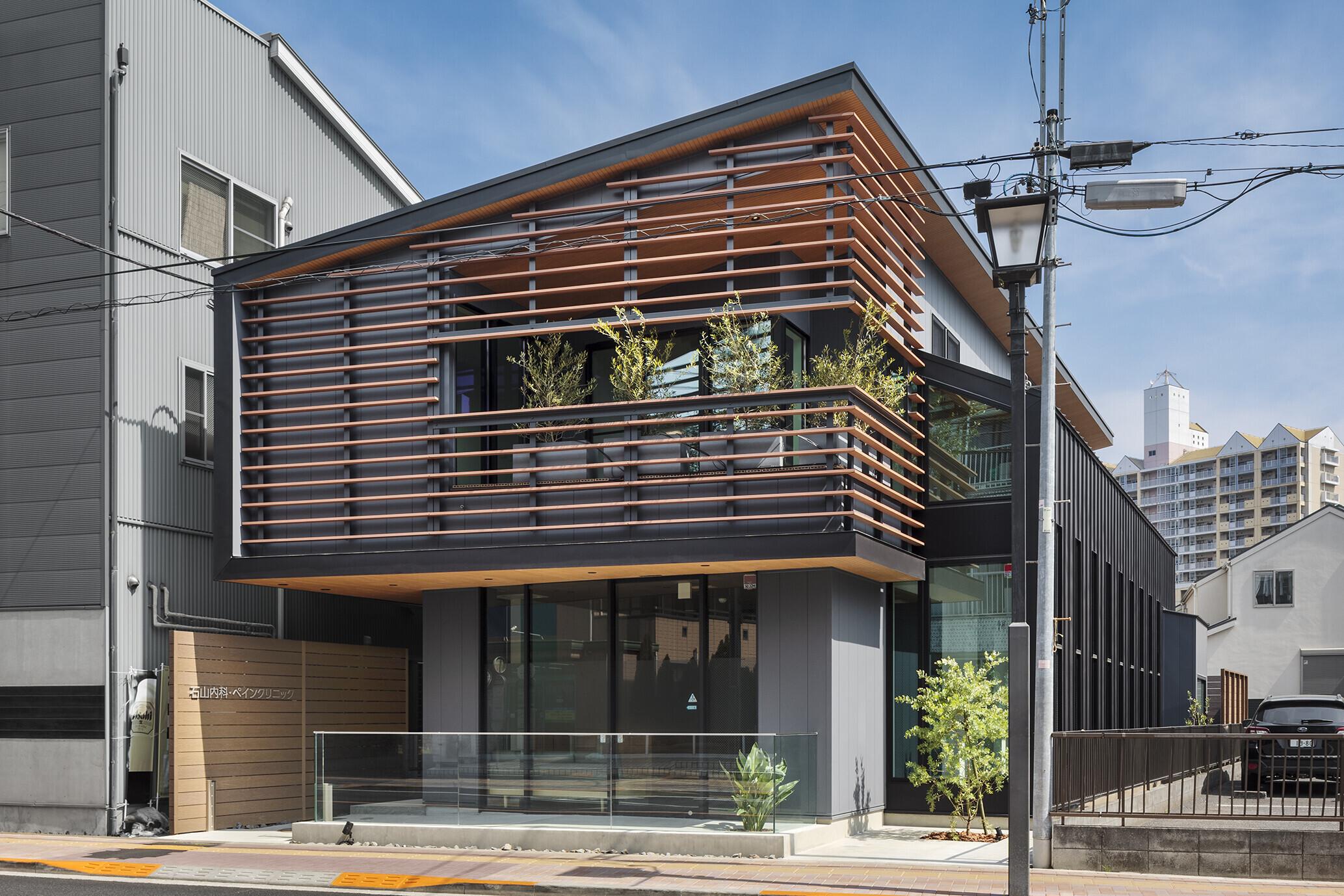 石山内科・ペインクリニックの建築事例写真