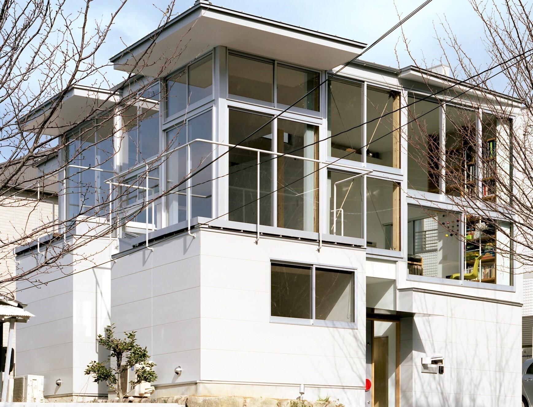 遊び心が詰まったスキップフロアの家の建築事例写真