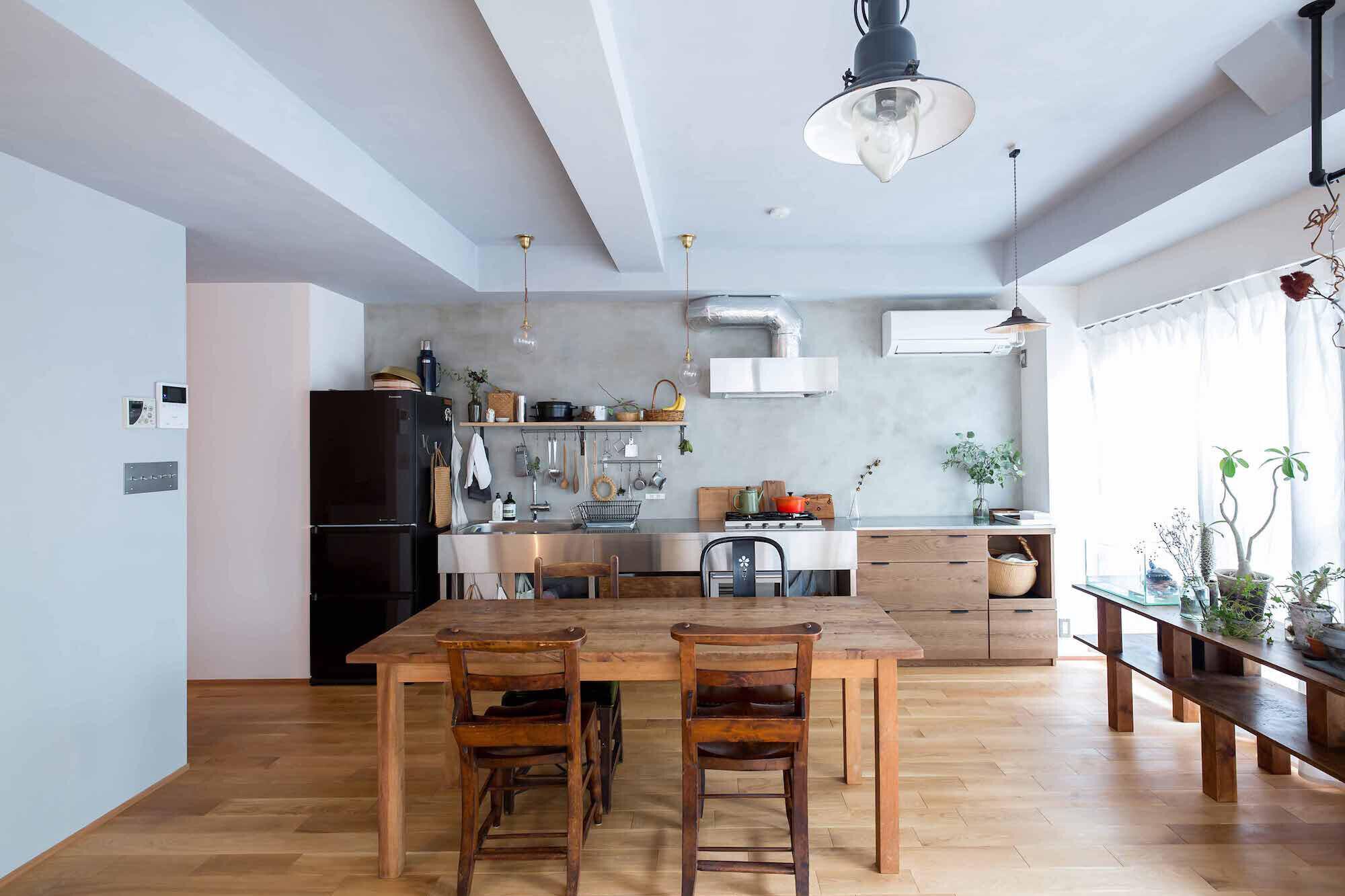 江戸川の家1(ノームコアな家)の建築事例写真
