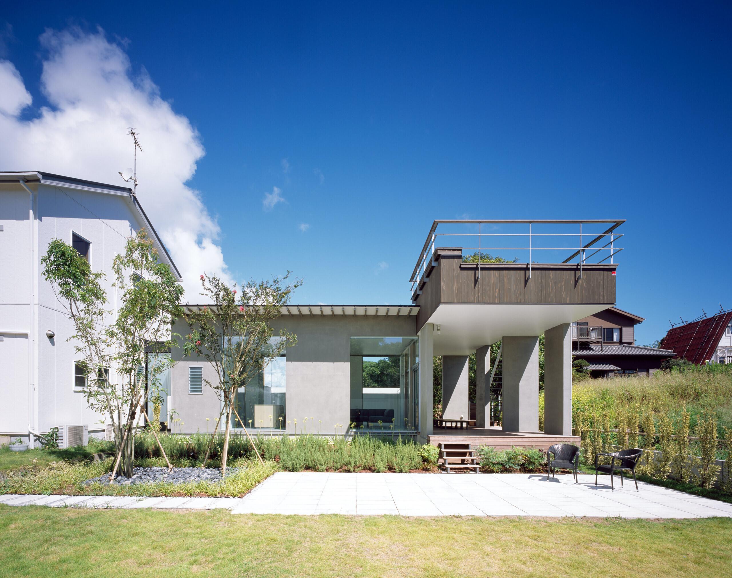 東浪見の別荘の建築事例写真