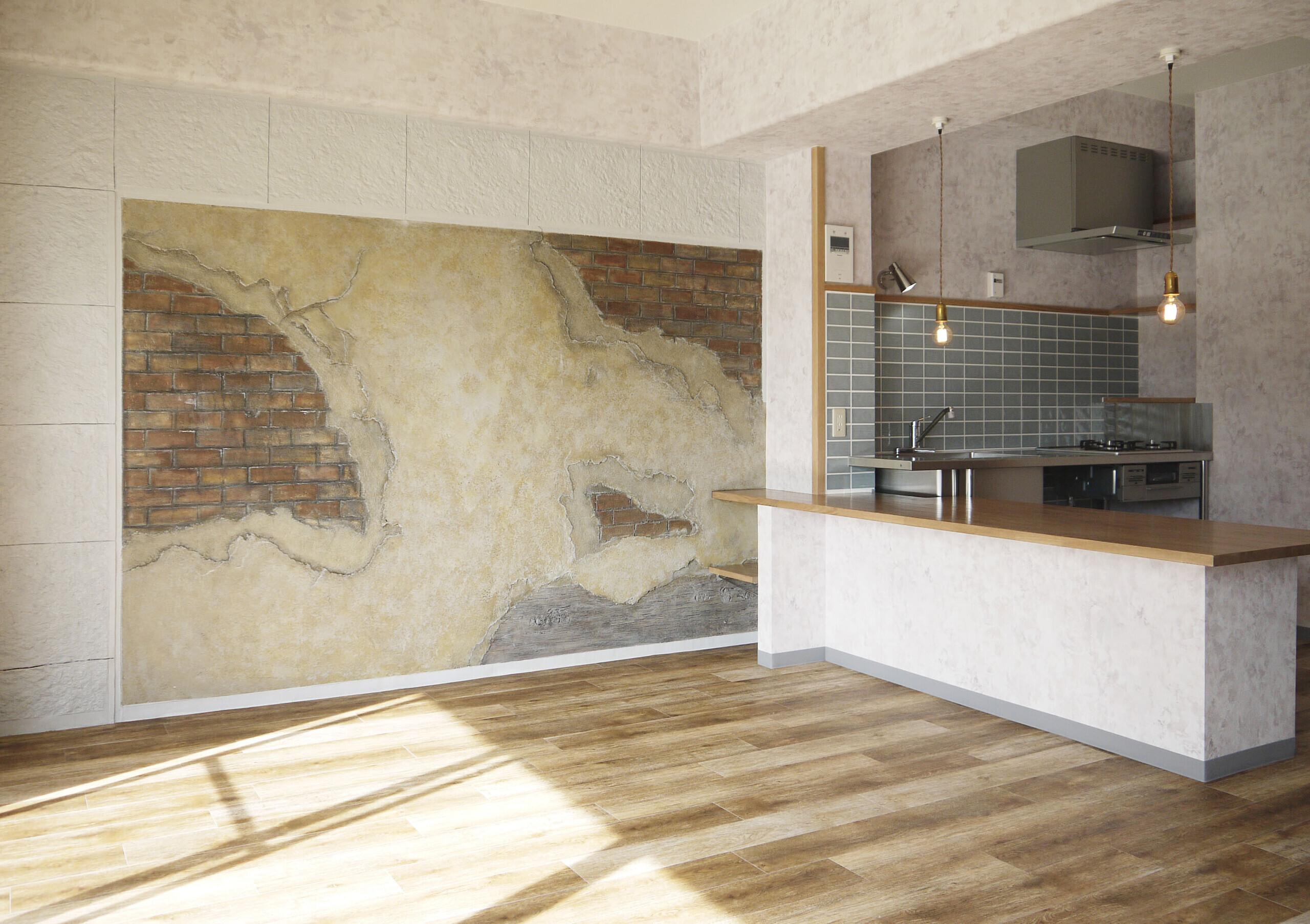 マンションリノベの建築事例写真