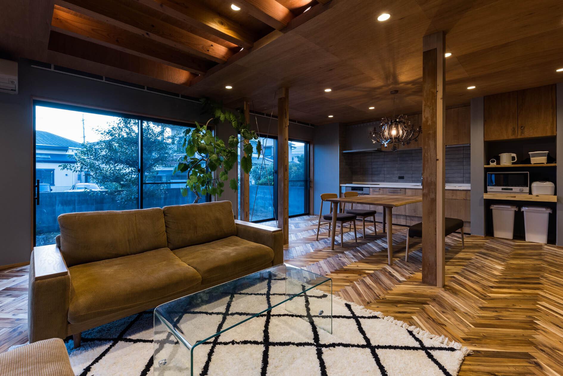 京都と海外が融合する家の建築事例写真