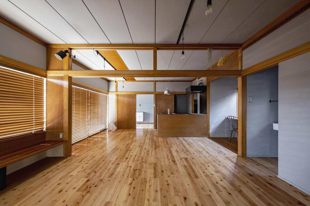 和室のDIYリノベーションの建築事例写真