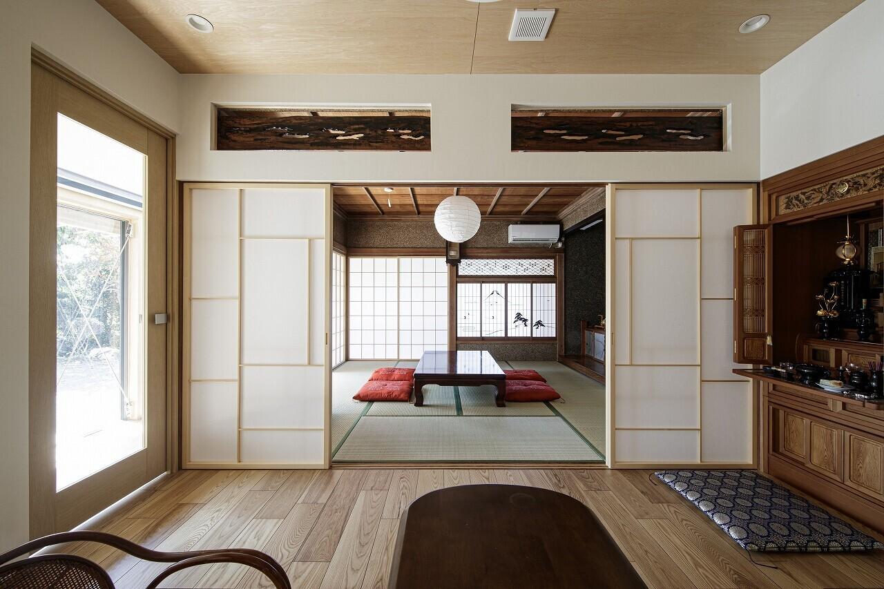 高崎の家「意匠・断熱・耐震改修」の建築事例写真