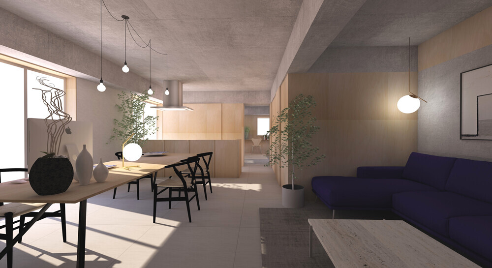 House in mino renovation PJの建築事例写真