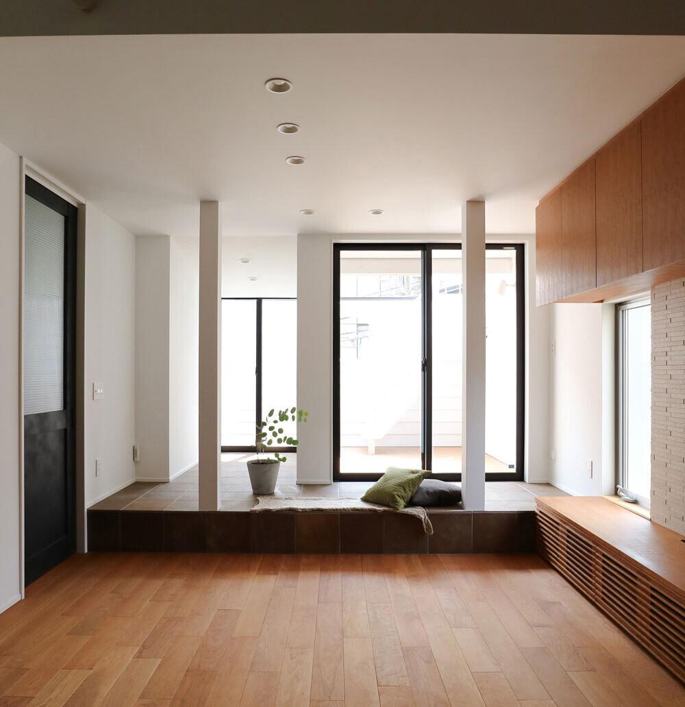 新宿 木造住宅の改修の建築事例写真