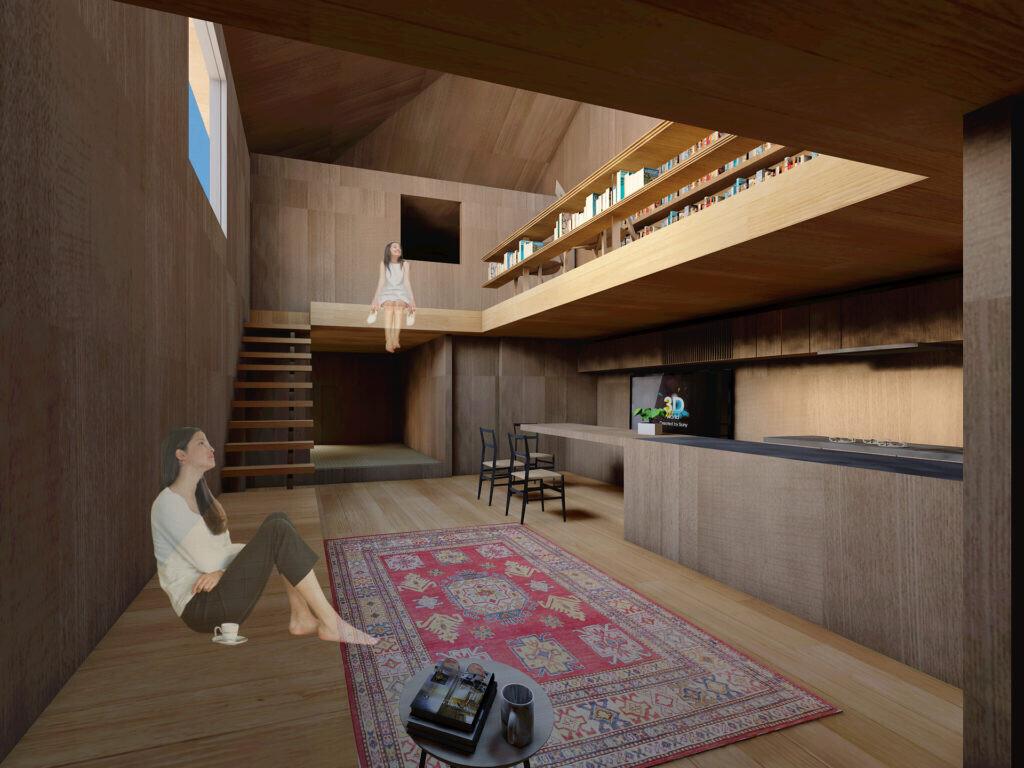 坪60万円台の超ローコスト・デザイン住宅の建築事例写真