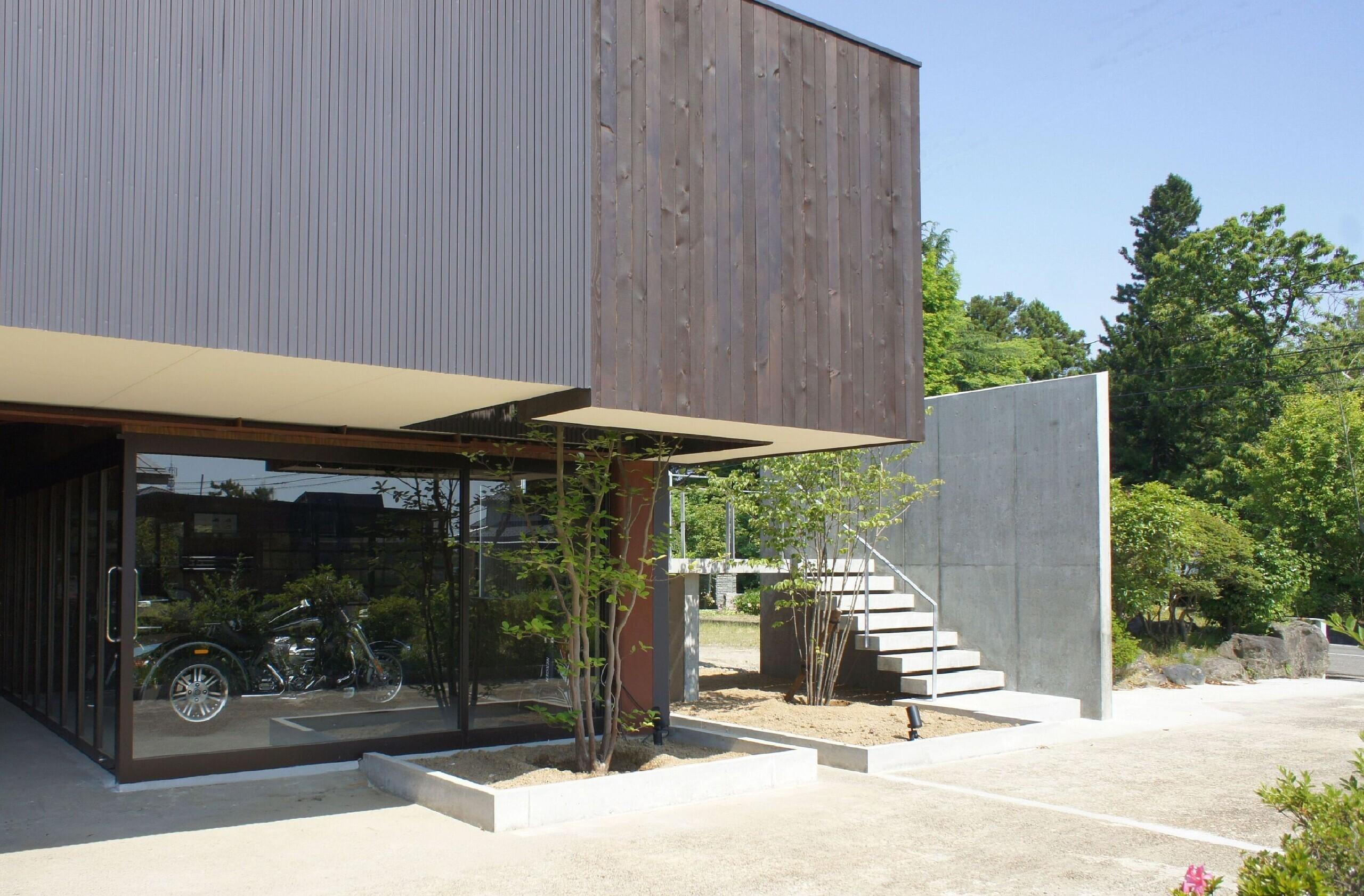 趣味を楽しむ家の建築事例写真