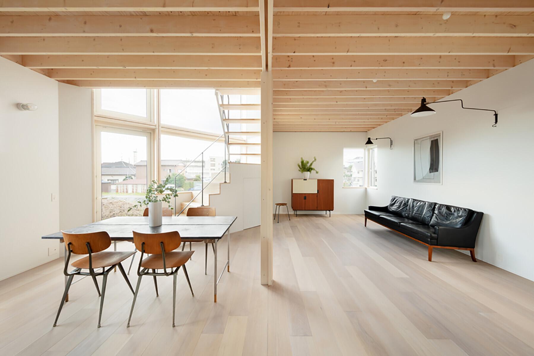 【東松山の家】大きな窓のある家の建築事例写真