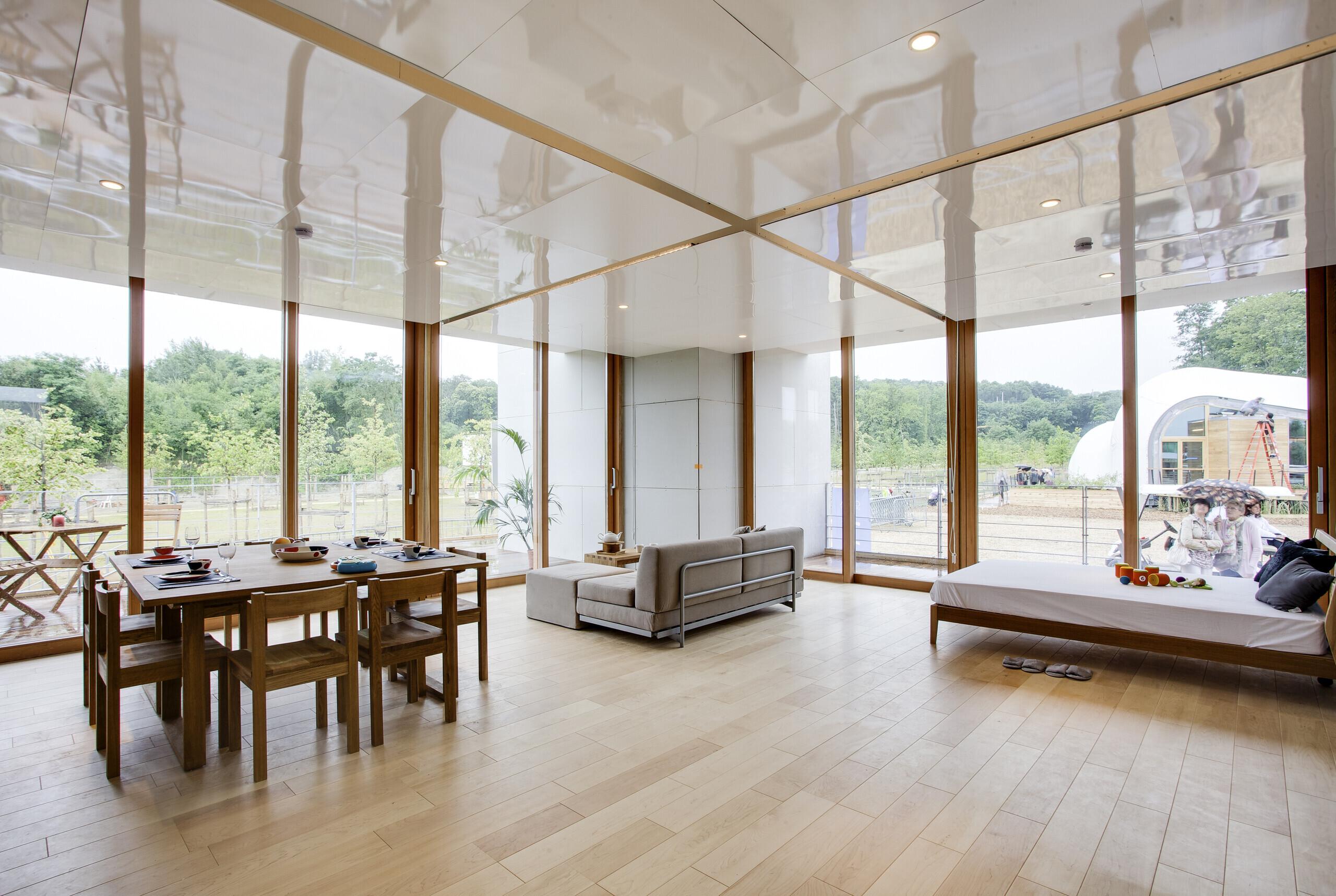 約45㎡の一室空間。 | 木造とは思えない開放的な家