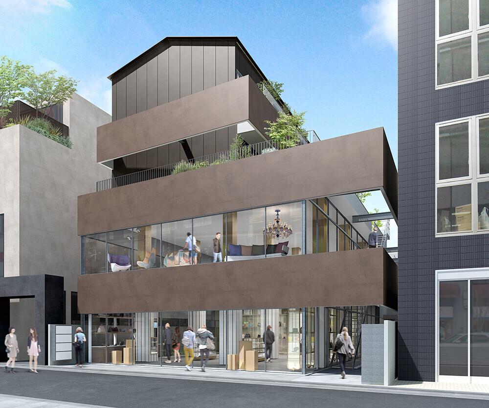 JTM BUILDING -都市型SOHOを持つ複合ビル-の建築事例写真