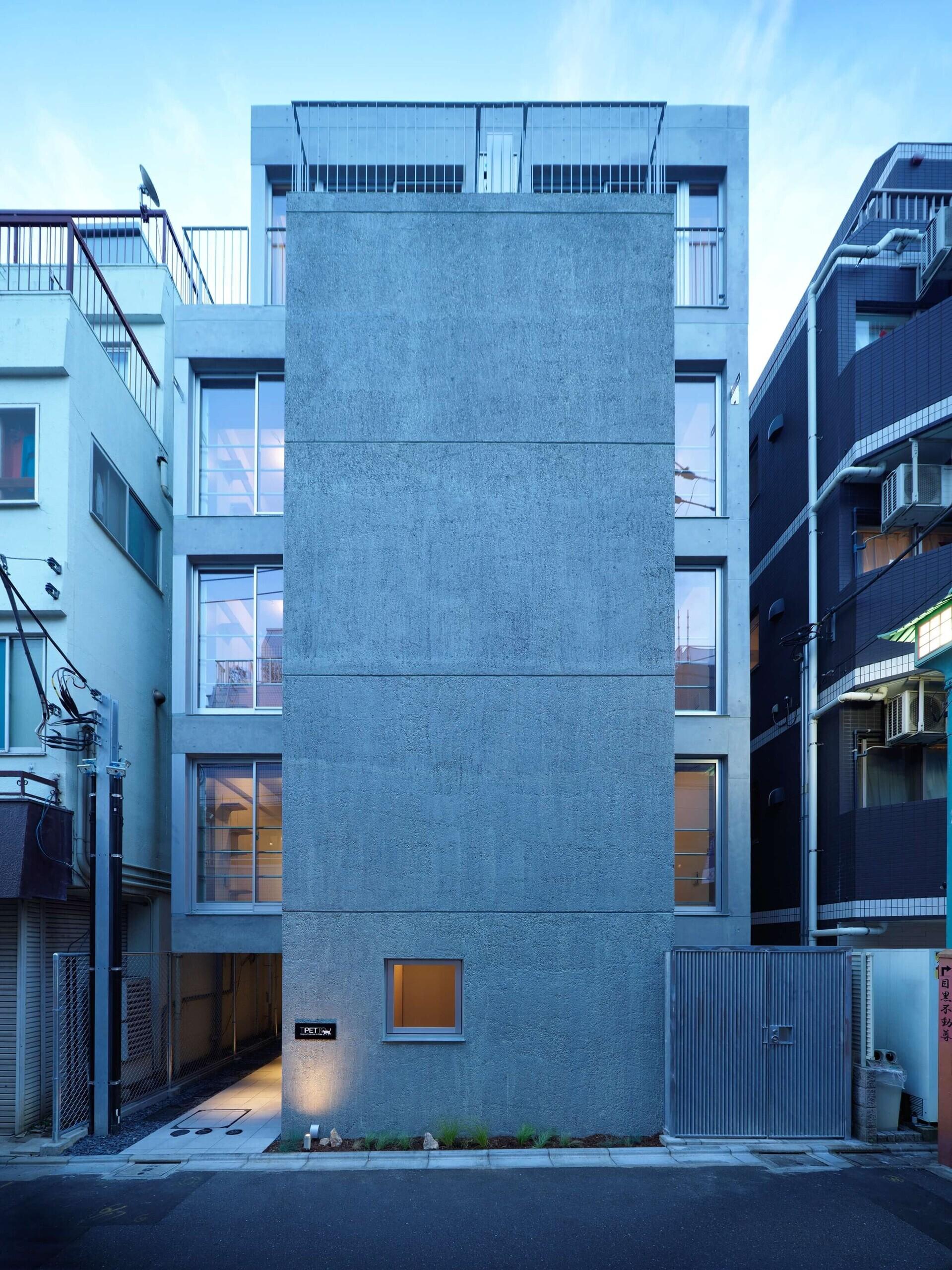 不動前の空地の建築事例写真