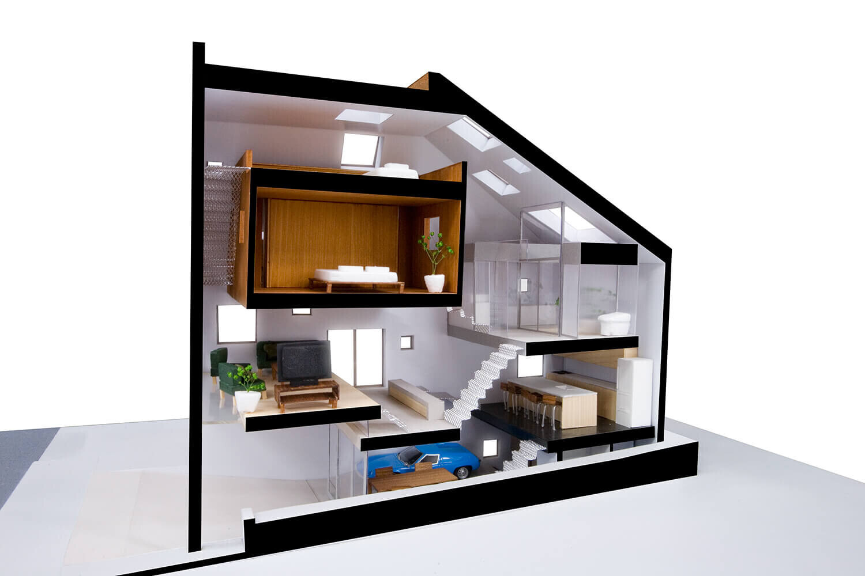 ハウス・スキップ・スラブの建築事例写真