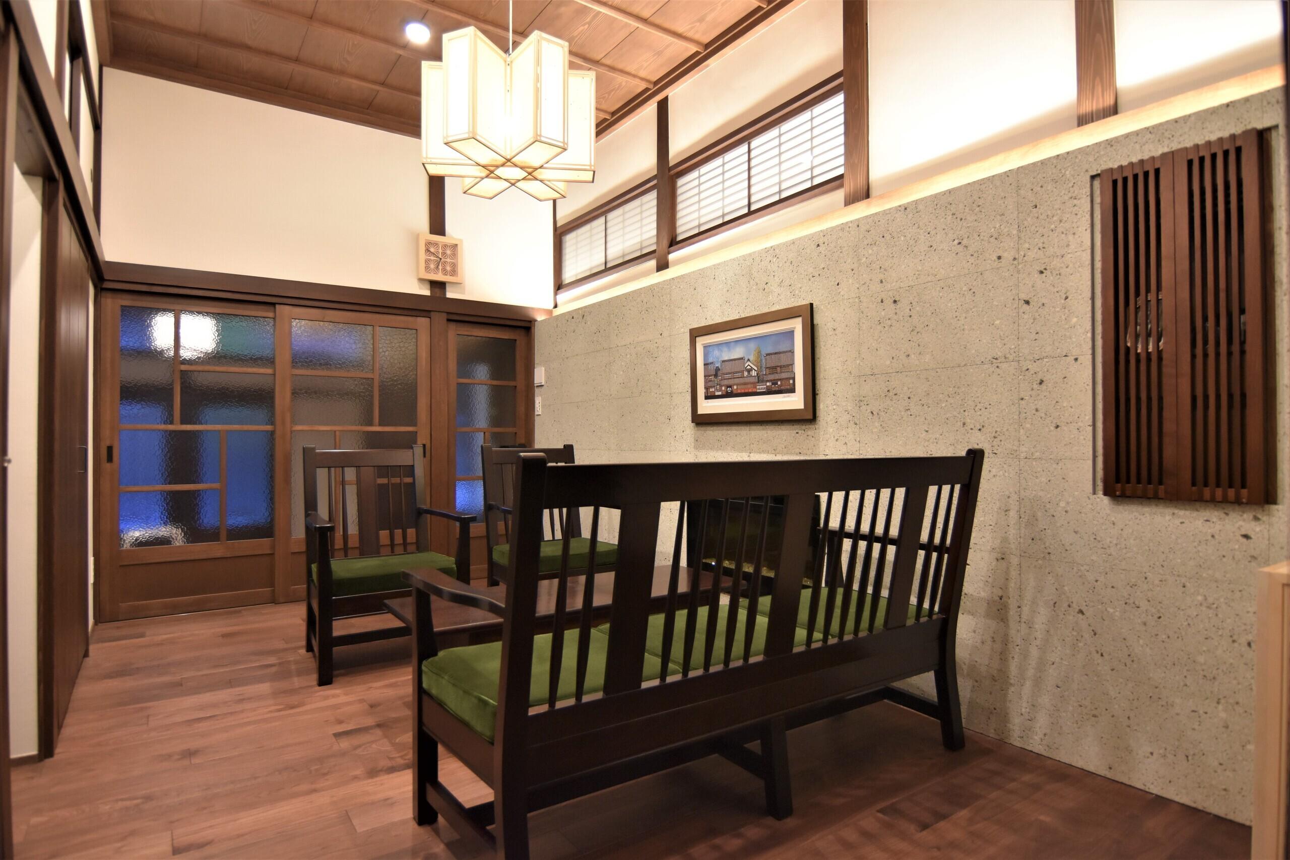 木造邸宅のリノベーション(躯体・断熱含む)の建築事例写真