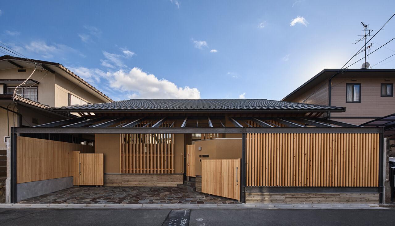 縦格子の家(高齢者が安心して住める平屋住宅)の建築事例写真
