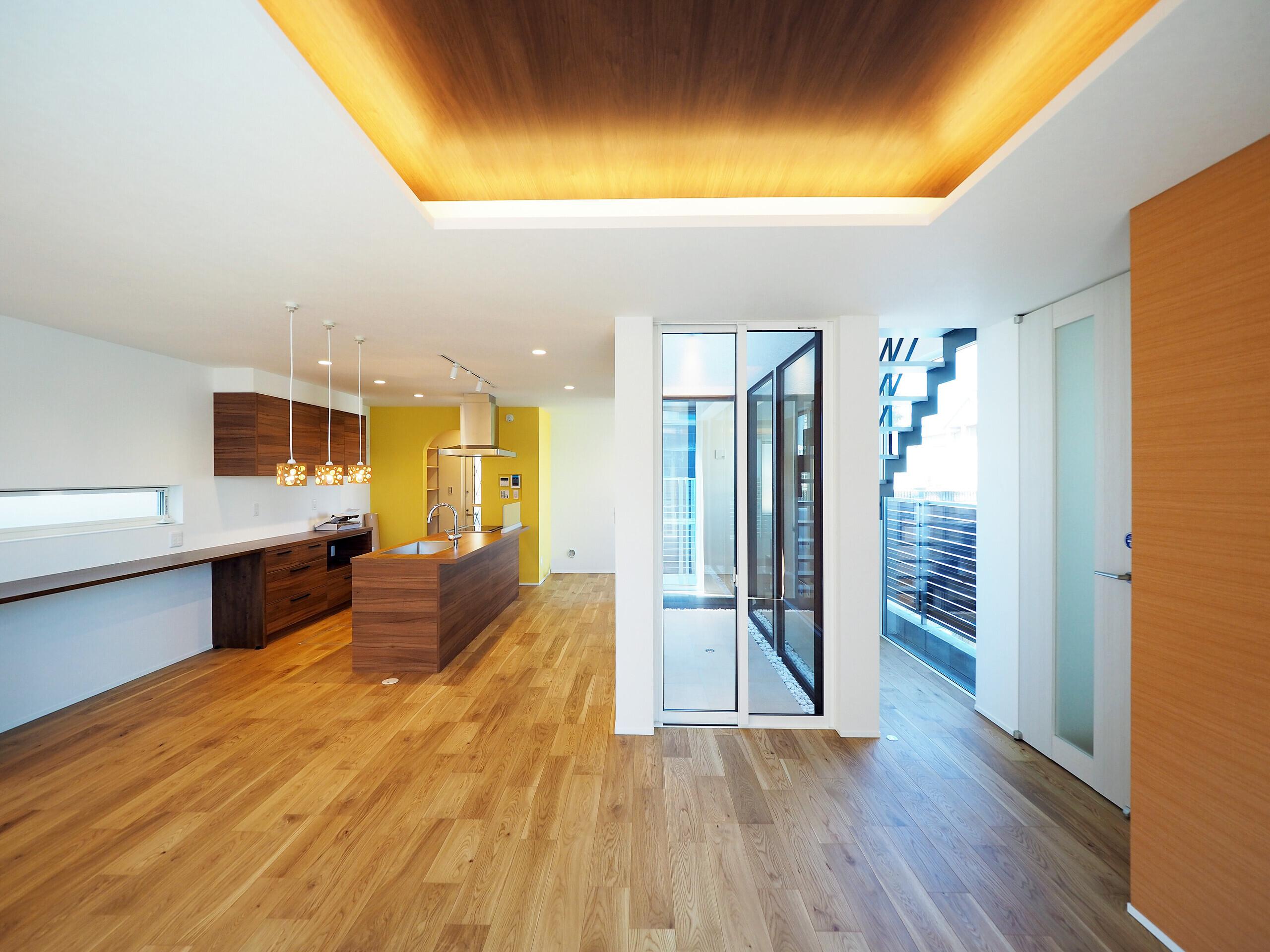 ライトコートのある住宅Ⅱの建築事例写真