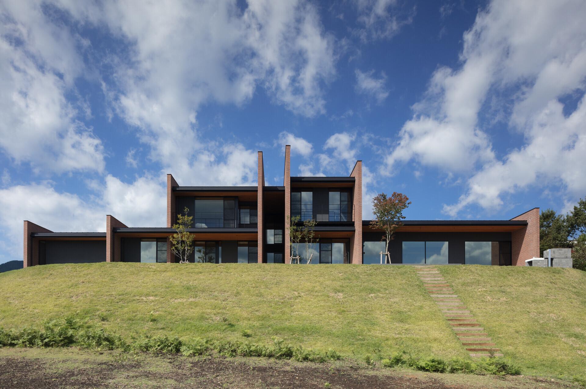 湯布高原のVILLAの建築事例写真