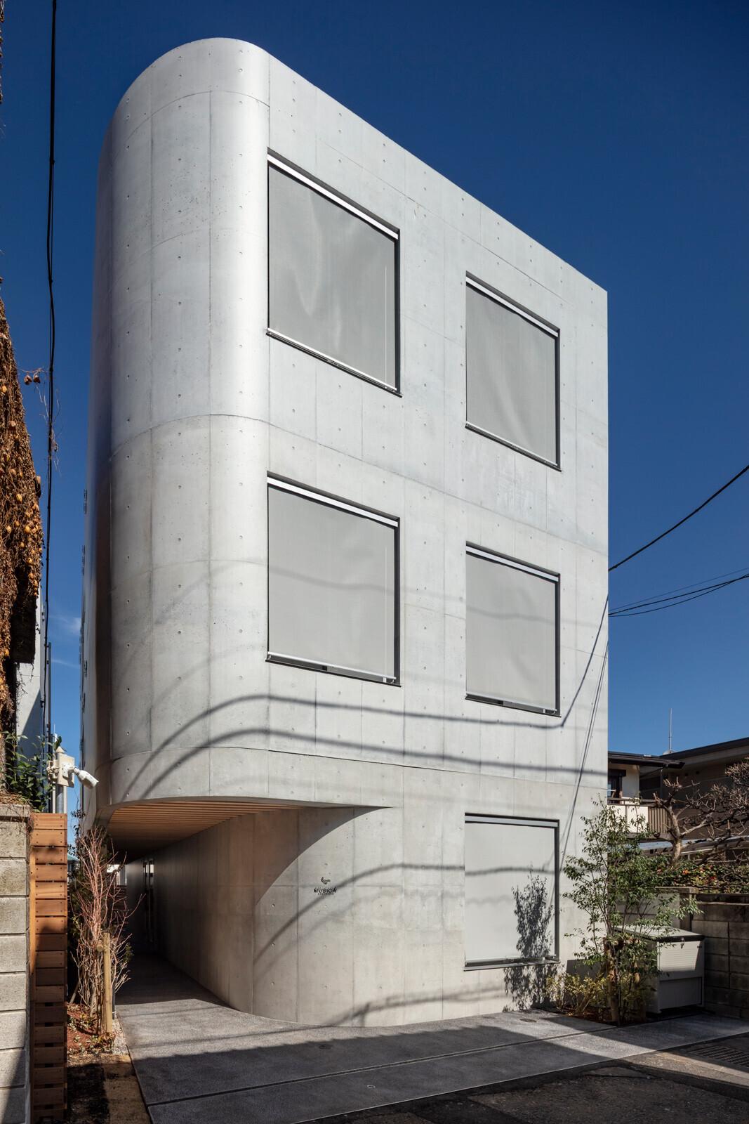世界最高水準防音賃貸マンション、テーマは音の隠れ家の建築事例写真