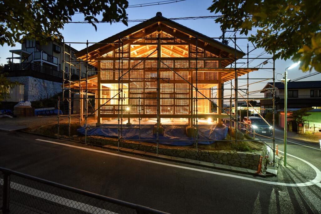 竹小舞の姿 | 名古屋の石場建て(工事中)