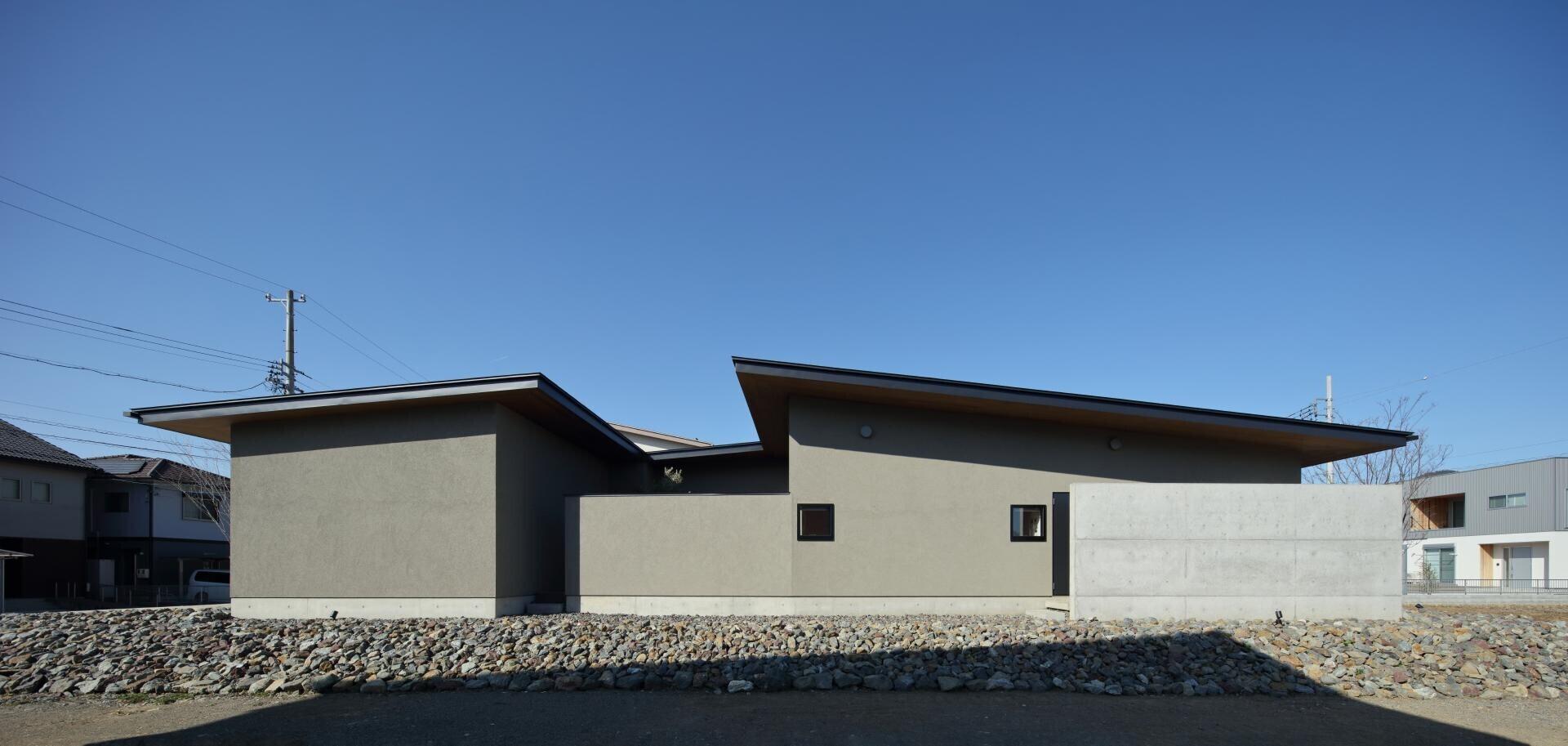 中央の家の建築事例写真