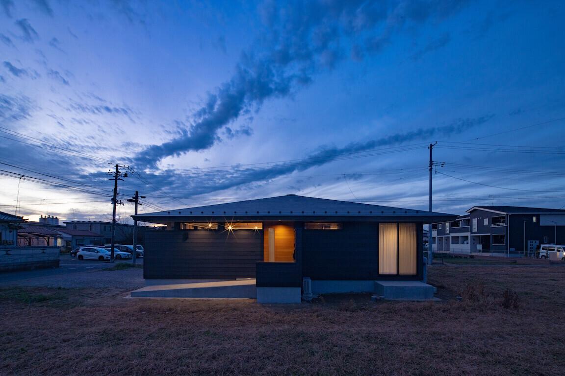 槻木の平屋住宅の建築事例写真
